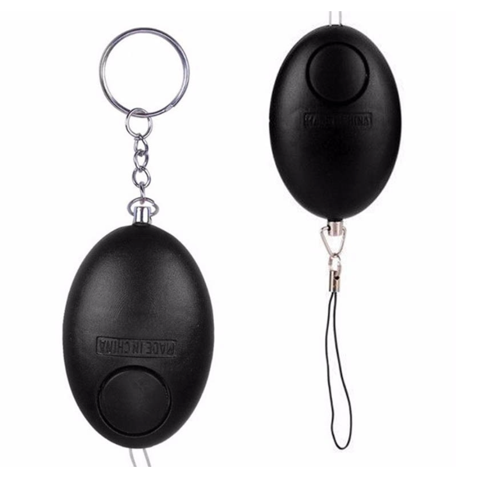 Personal Safety Loud Scream Emergency Alarm Keychain