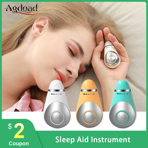 MICROCURRENT SLEEPAID DEVICE, HYPNOSIS HIGH PRESSURE RELIEF MASSAGE RELAXATION