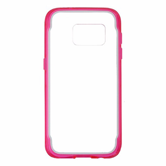 Griffin Survivor Clear Case for Samsung Galaxy S7 - Pink/White/Clear