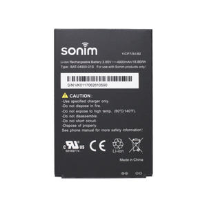 Sonim XP8 XP8800 OEM Genuine Original 4900mAh Lithium-Ion Battery