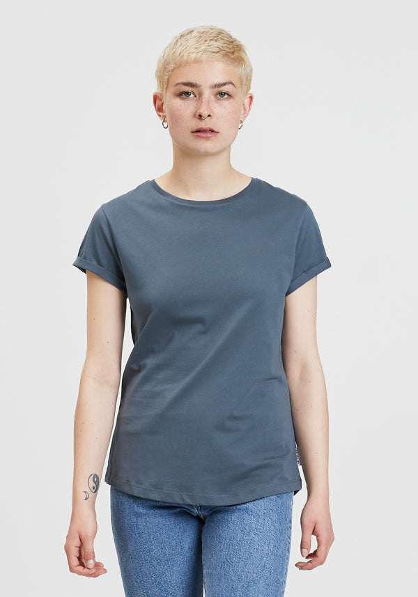 Blanko T-Shirt charcoal-Hafendieb