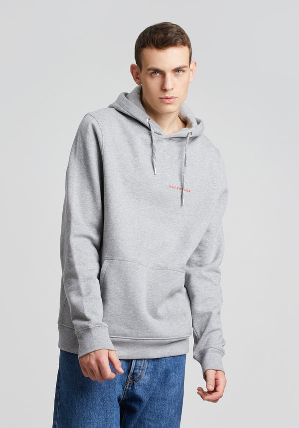 Elbe Hoodie heather grey