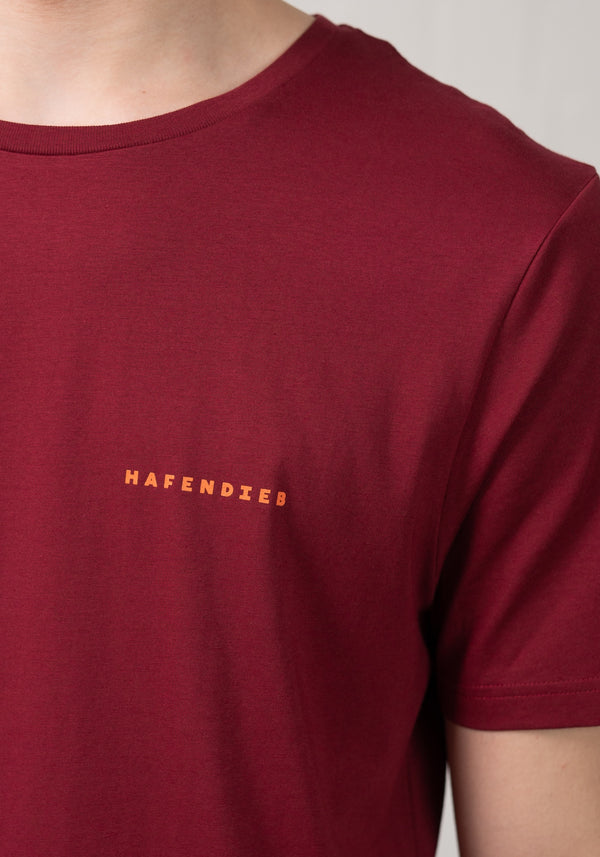 Elbe T-Shirt burgundy