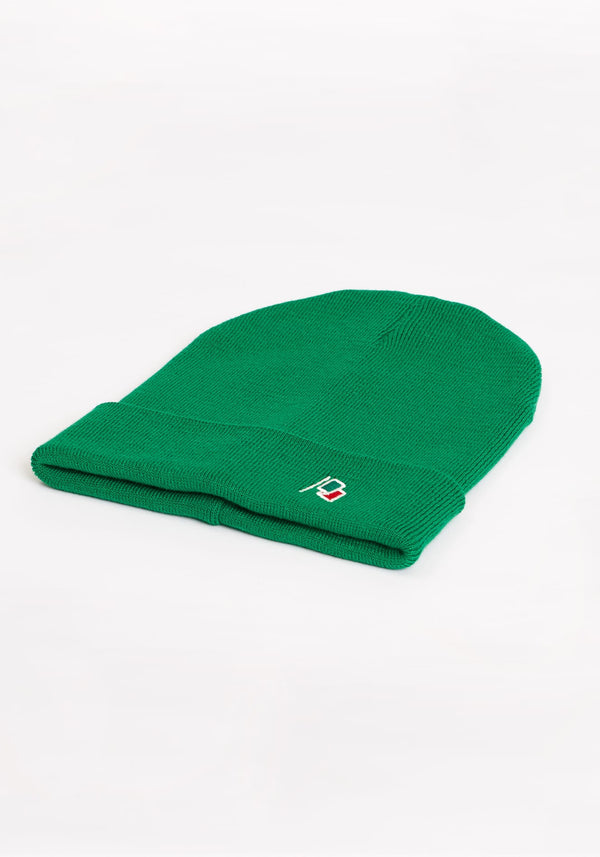 Flagge Beanie deep green - Hafendieb