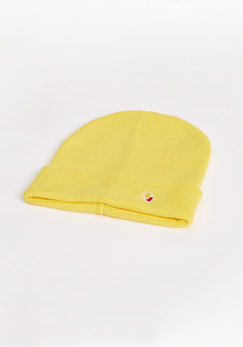 Flagge Beanie deep yellow - Hafendieb