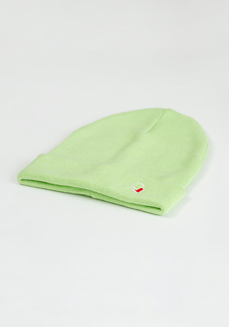 Flagge Beanie light green - Hafendieb