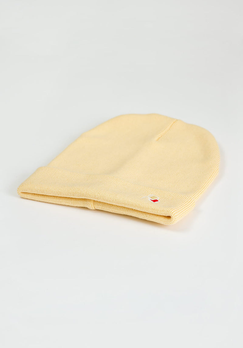Flagge Beanie light yellow - Hafendieb