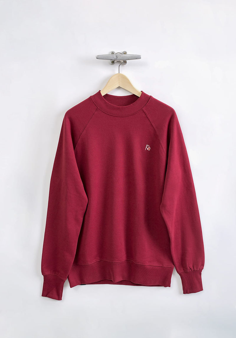 Flagge Stick Sweater burgundy - Hafendieb