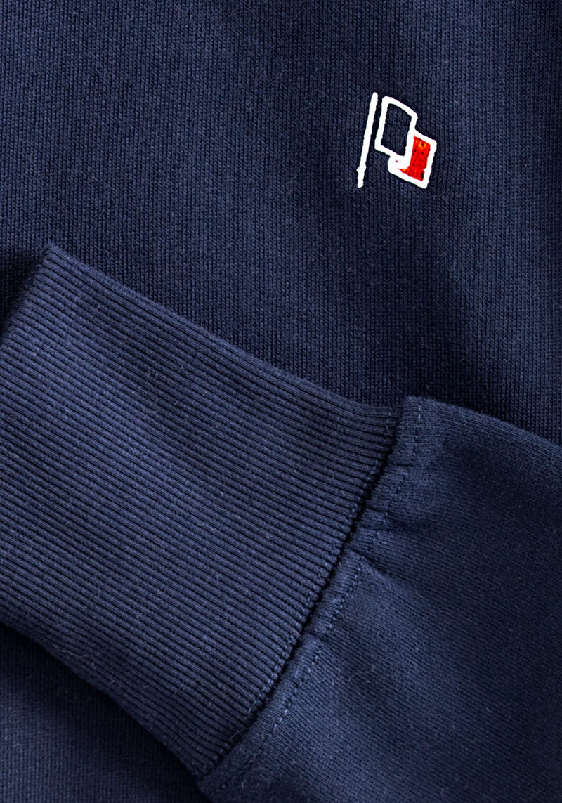 Flagge Stick Sweater navy - Hafendieb