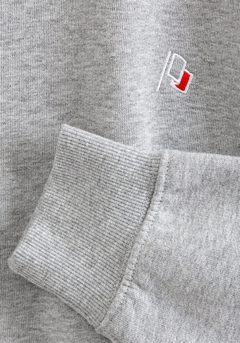 Flagge Stick Sweater heather grey - Hafendieb