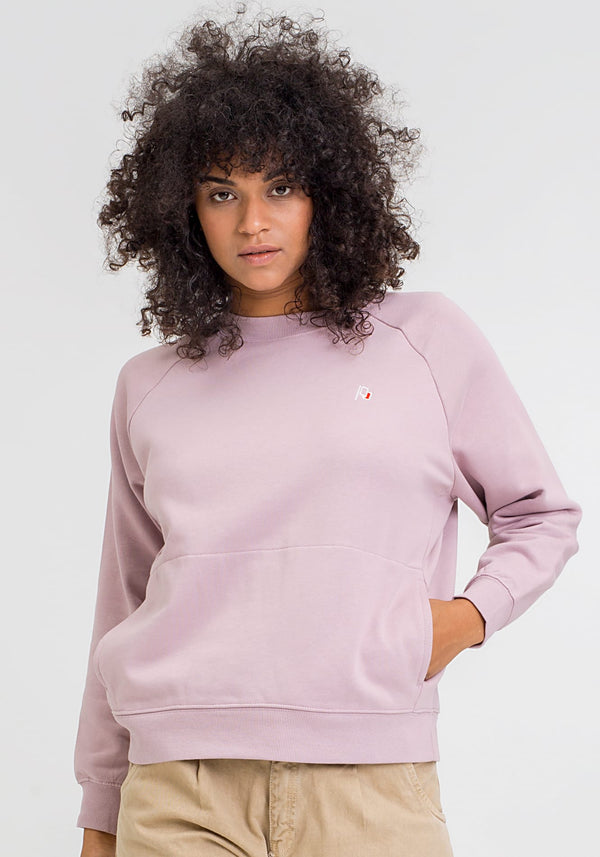 Flagge Stick Sweater pink - Hafendieb