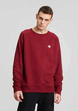 Granaat Sweater burgundy-Hafendieb