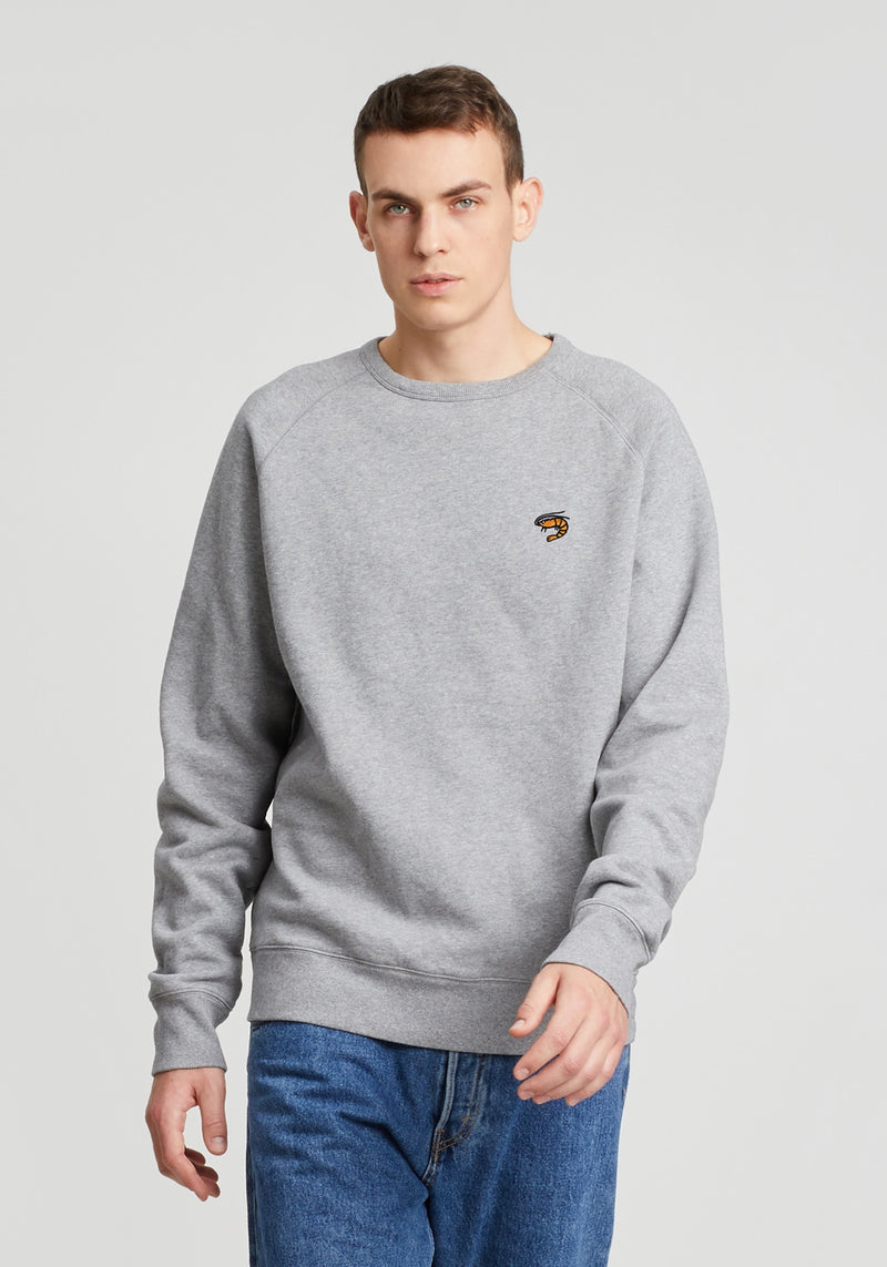 Granaat Sweater heather grey-Hafendieb
