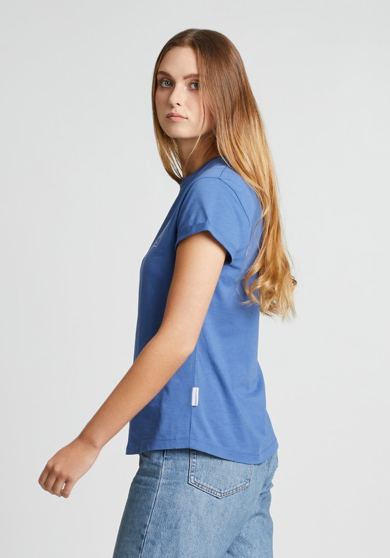 Klima T-Shirt light denim-Hafendieb