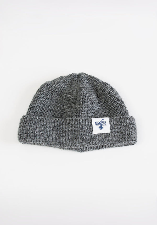 Koggen Beanie light grey - Hafendieb