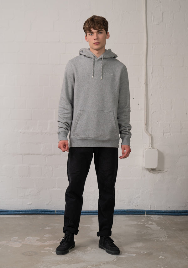 Logo Stick Hoodie heather grey
