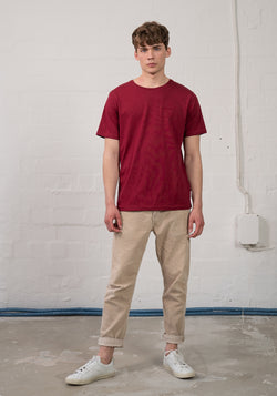 Logo Stick T-Shirt burgundy