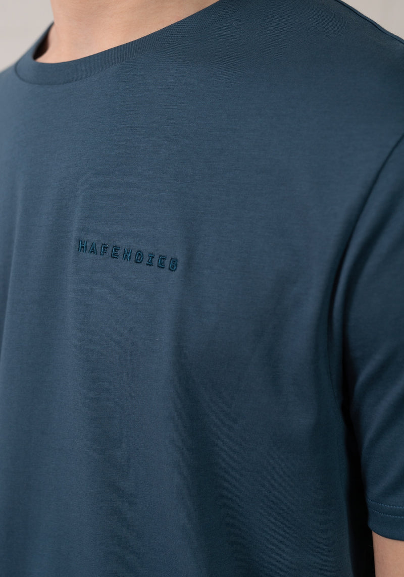 Logo Stick T-Shirt denim-Hafendieb