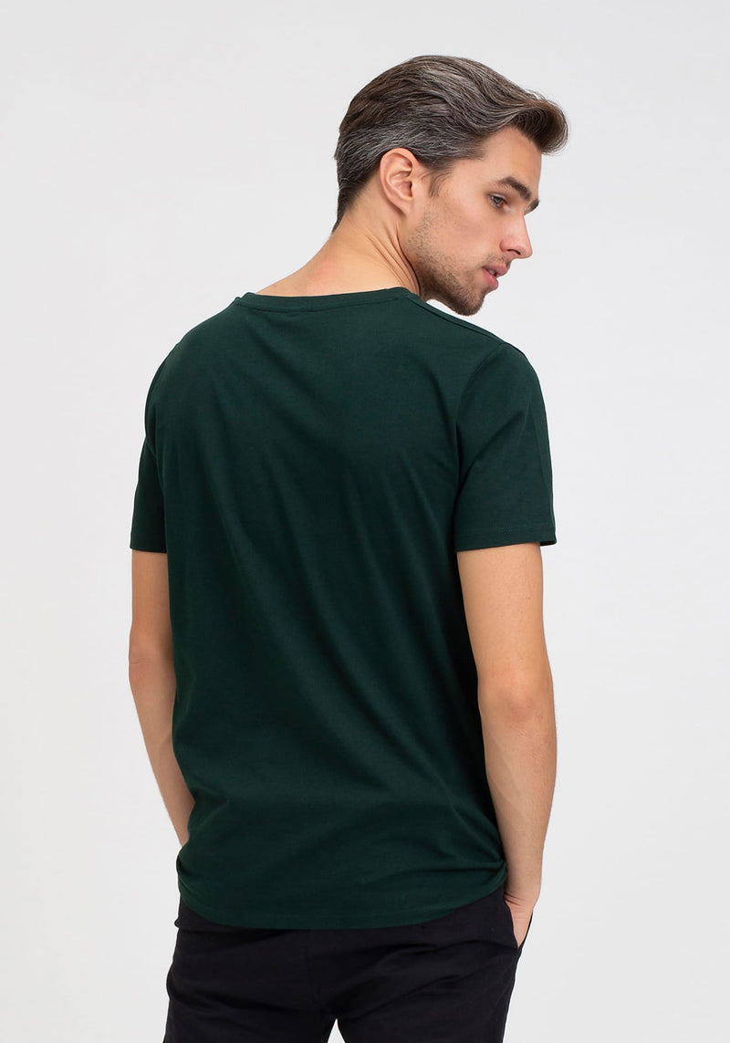 Logo T-Shirt scarab green