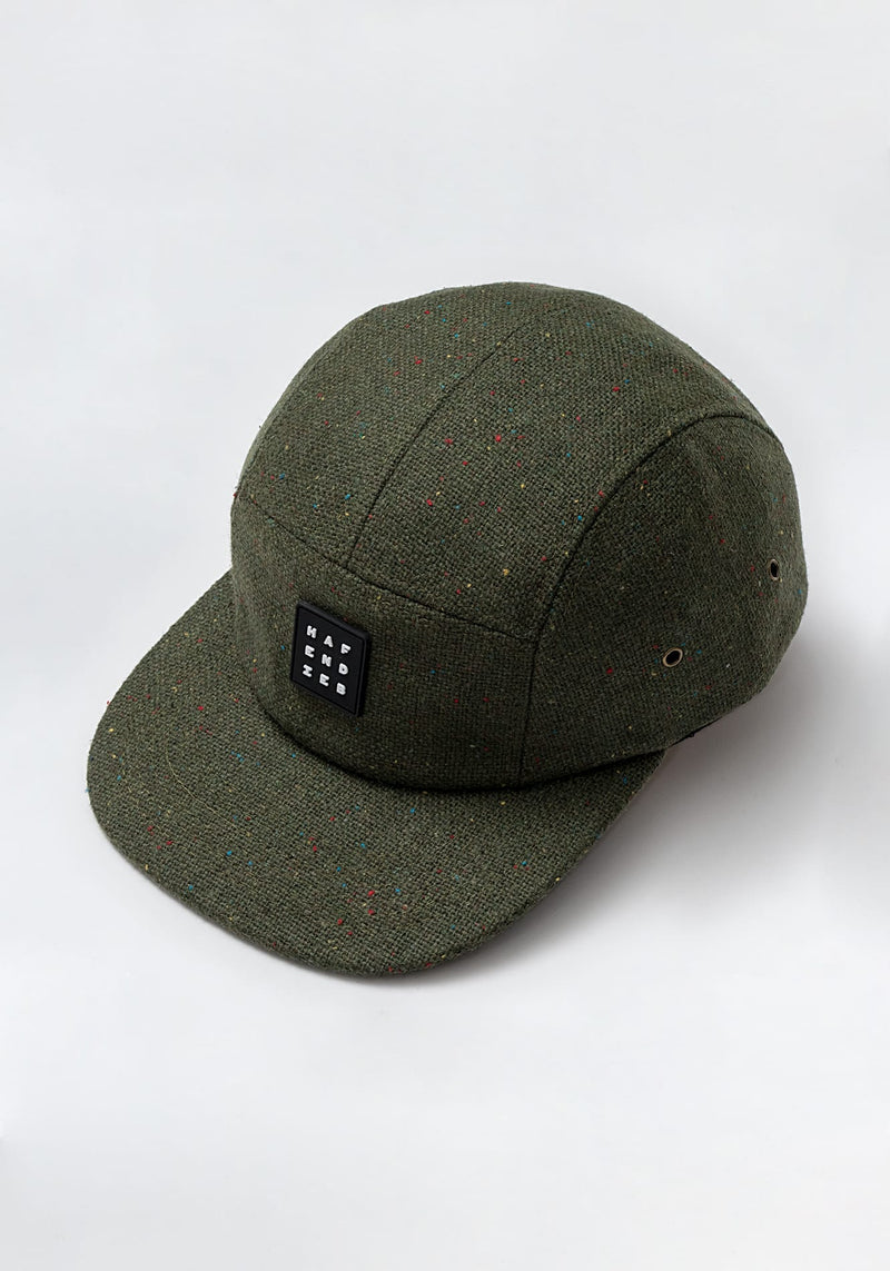 Pattern 5 Panel Cap army green - Hafendieb