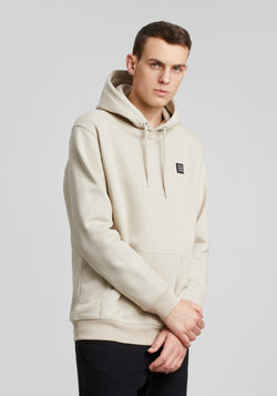 Logo Block Patch Hoodie dust - Hafendieb