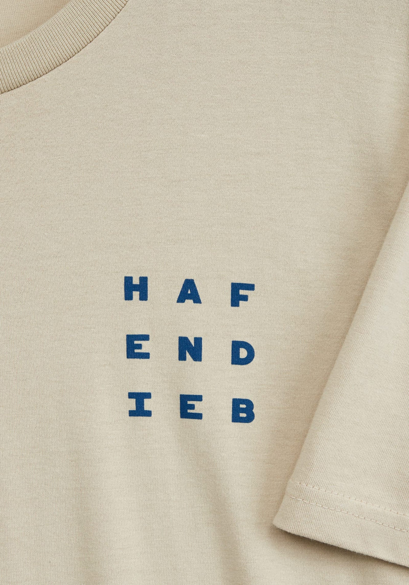Logo Block T-Shirt dust - Hafendieb
