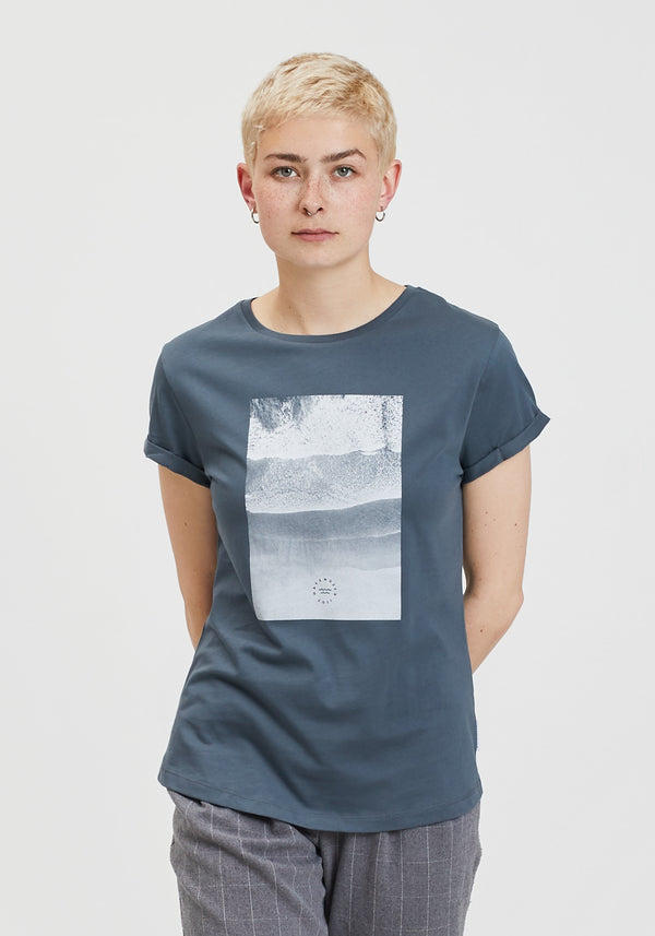 Meer T-Shirt charcoal-Hafendieb