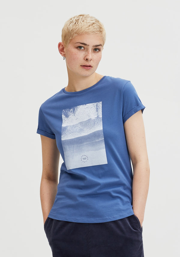 Meer T-Shirt light denim-Hafendieb