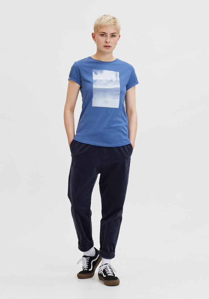 Meer T-Shirt light denim