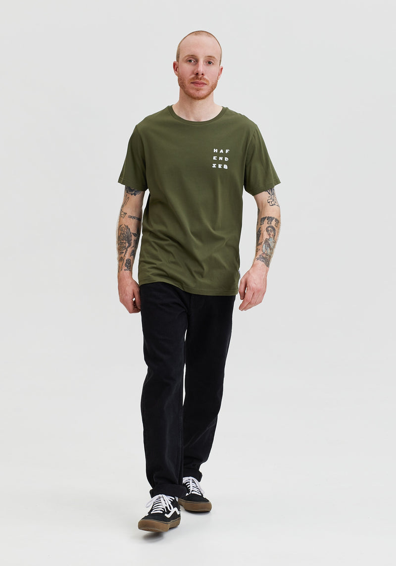 Reflexion T-Shirt olive