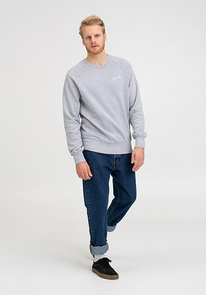 Tag Lütt Stick Sweater grey twist - Hafendieb