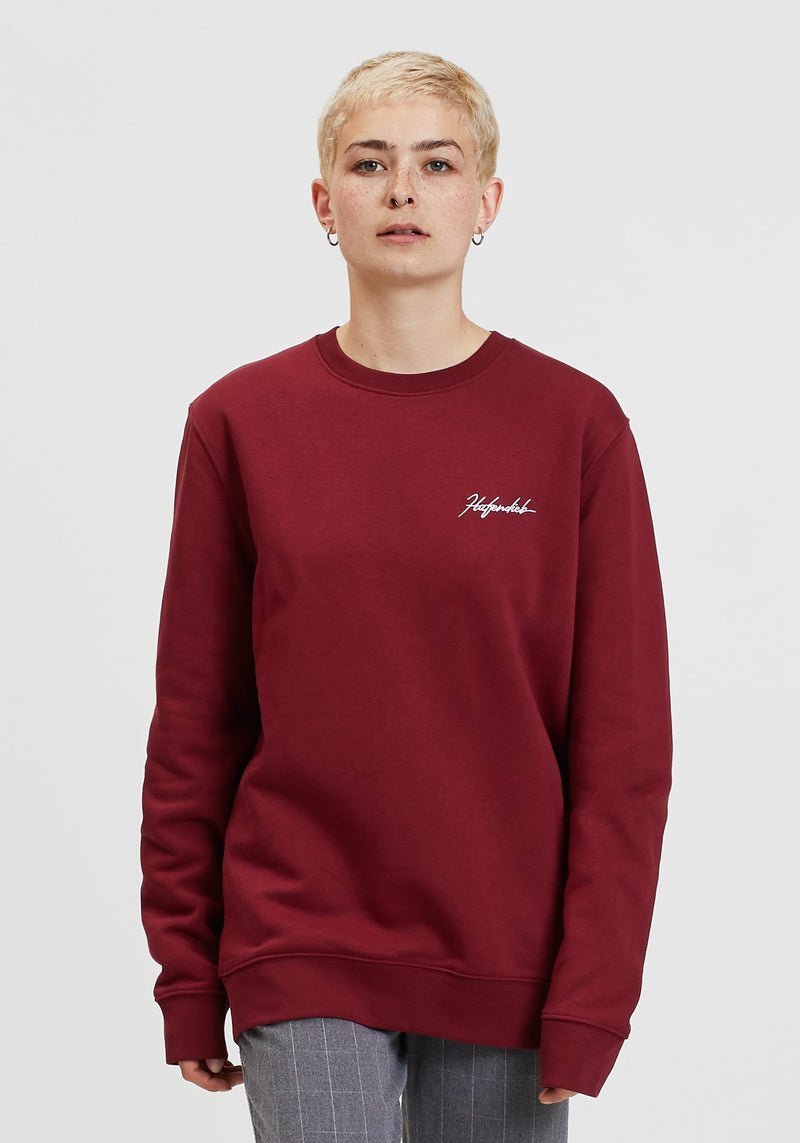 Tag Lütt Sweater burgundy