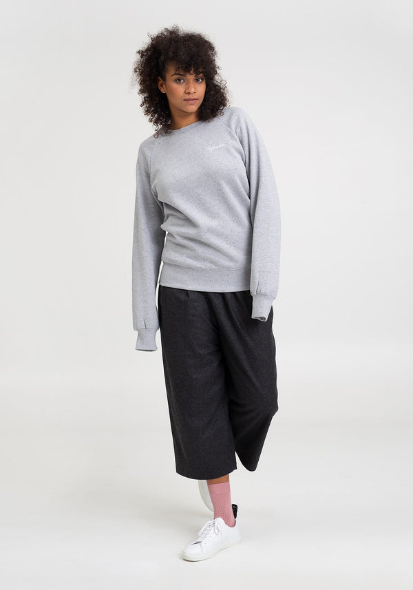 Tag Lütt Stick Sweater grey twist
