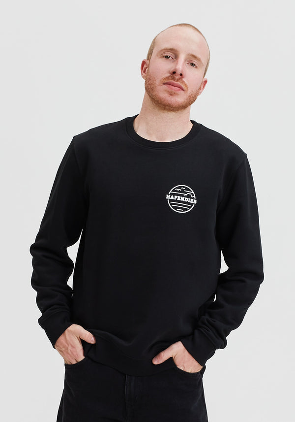 Waterkant Lütt Sweater black-Hafendieb