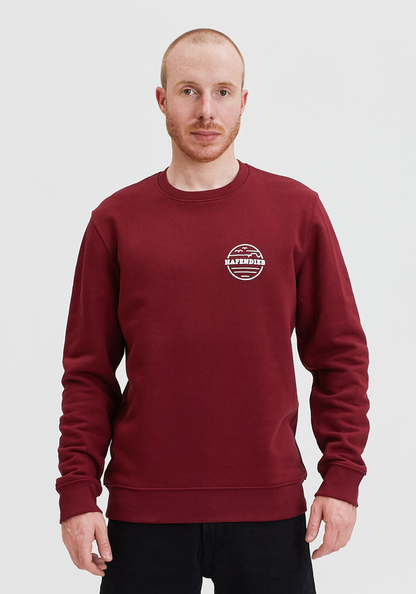Waterkant Lütt Sweater burgundy
