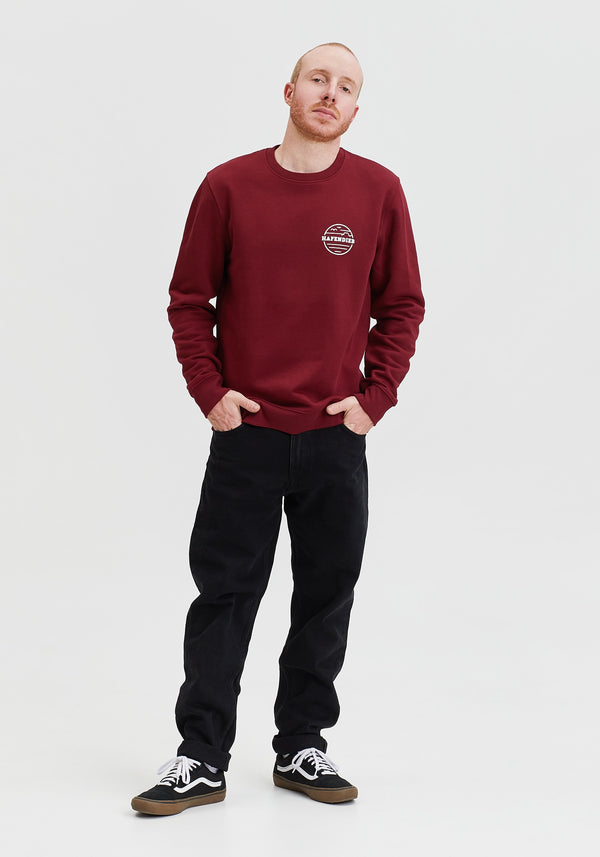 Waterkant Lütt Sweater burgundy-Hafendieb
