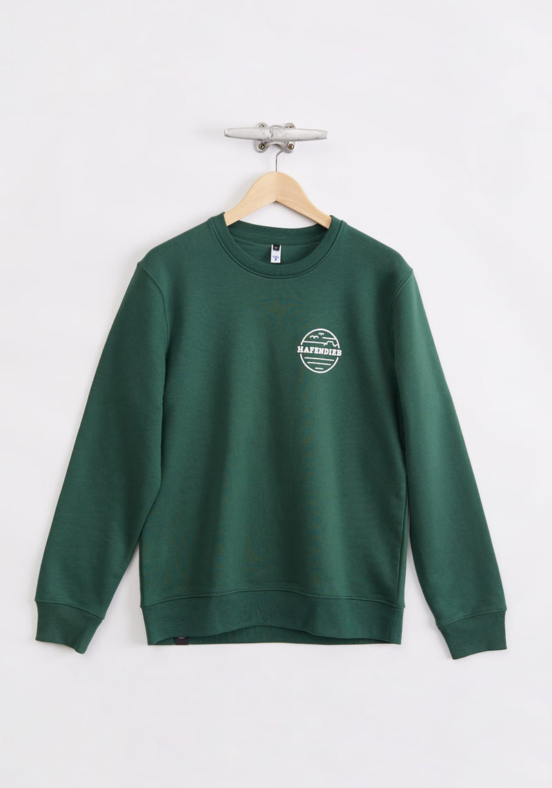 Waterkant Sweater green - Hafendieb