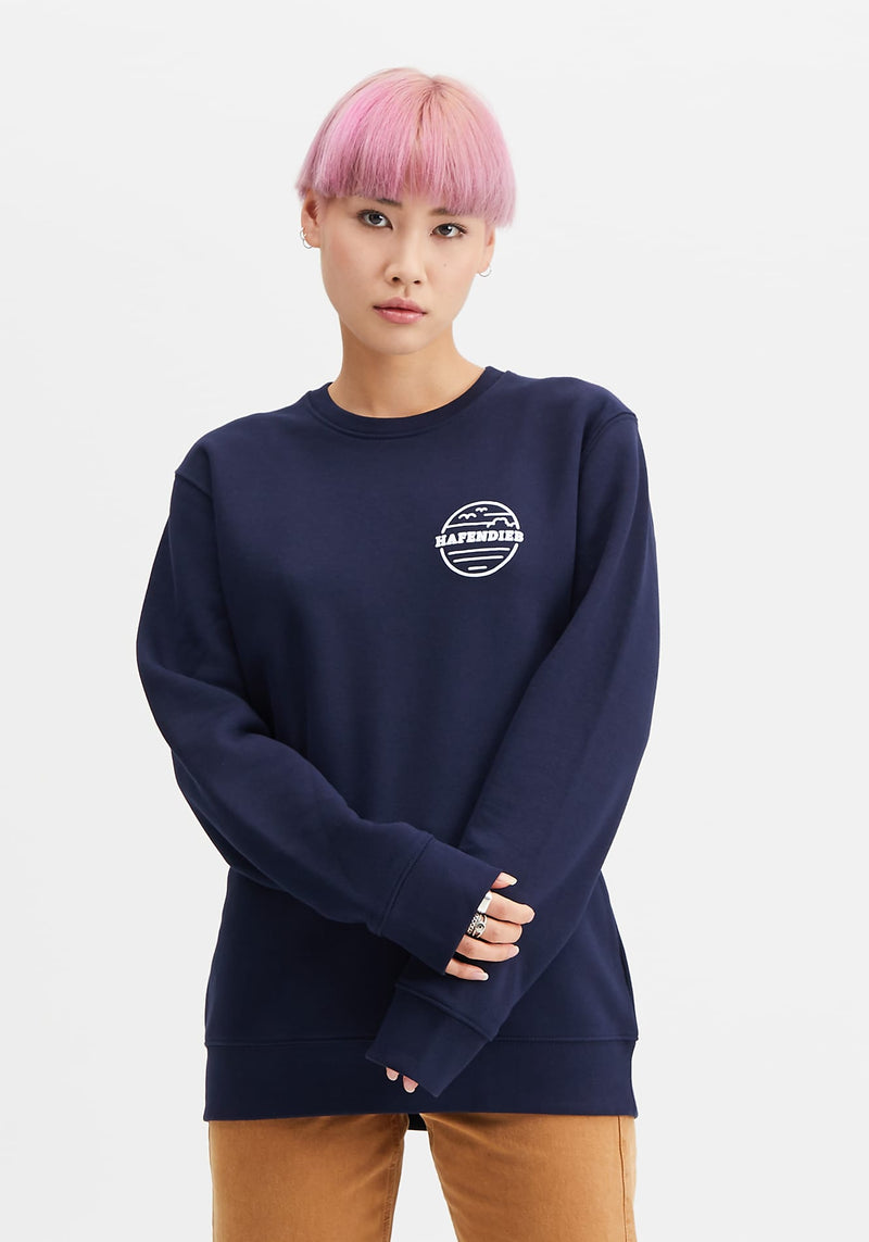 Waterkant Sweater navy - Hafendieb