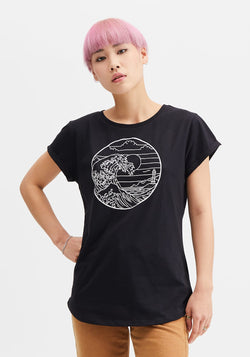 Waterkant T-Shirt black - Hafendieb