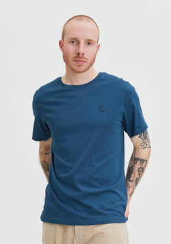 Welle Patch T-Shirt denim-Hafendieb