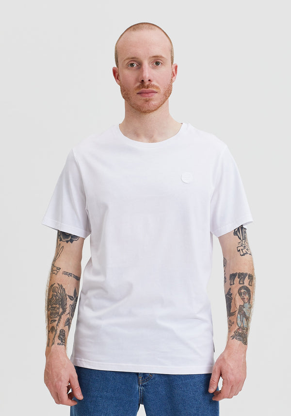 Welle Patch T-Shirt white