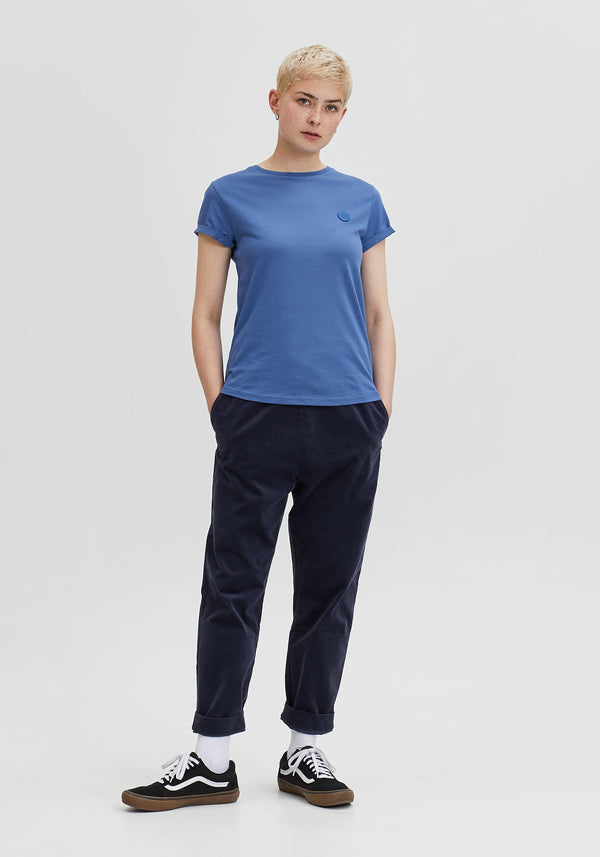 Welle Patch T-Shirt light denim-Hafendieb