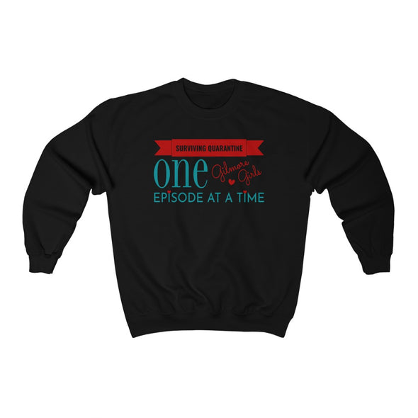 One Episode at a Time Crewneck Sweatshirt