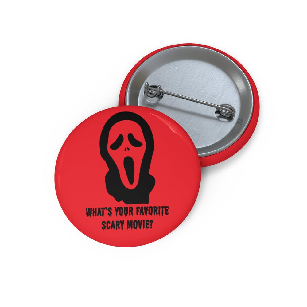 Scary Pin Button