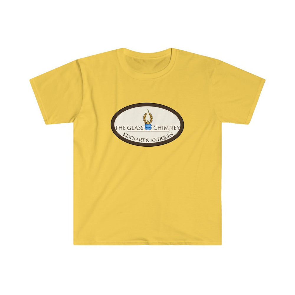 The Glass Chimney - Kim's Antiques T-Shirt