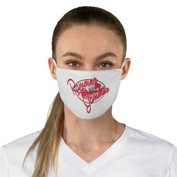 Rammer Jammer Crab Fabric Face Mask
