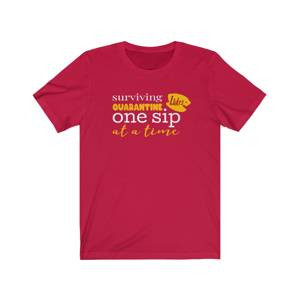 One Sip at a Time Short Sleeve Tee