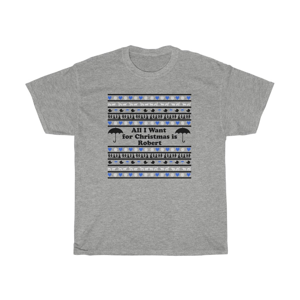 Team Robert Christmas Cotton Tee - FandomFix.com
