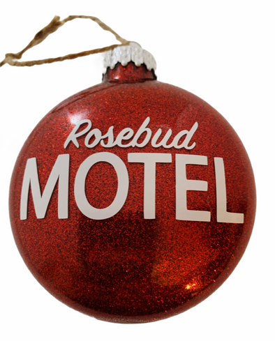 Rosebud Motel Ornament