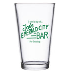 Joe's Bar Glass